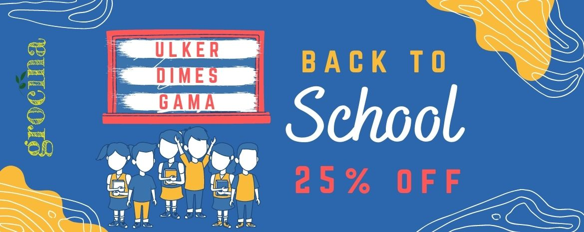 Back to school sale 25% off