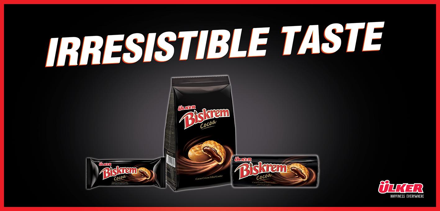 Ulker Biskrem Cacao Biscuit Cocoa Chocolate Biscuit