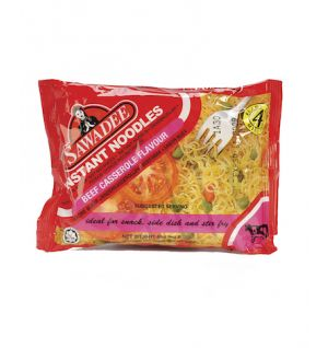 SAWADEE INSTANT NOODLES BEEF CASSEROLE 85g