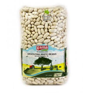 Argentina White Beans 1 Kg Grocina.com