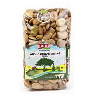 BROAD BEANS WHOLE 500g - Bakla