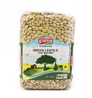 GREEN LENTILS 500gr / Yesil mercimek