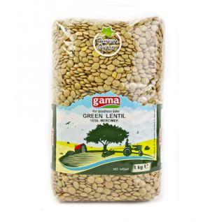 GREEN LENTILS 1kg / yesil mercimek