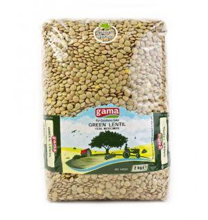 GREEN LENTILS 2kg / Yesil Mercimek 2kg