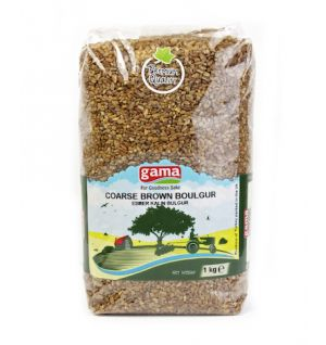 BROWN COARSE BOULGUR / Esmer Kalin Bulgur 1kg