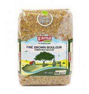 BROWN FINE BOULGUR / Esmer ince Bulgur 500gr