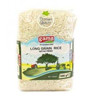 LONG GRAIN RICE 500gr, Beyaz pirinc