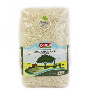 LONG GRAIN RICE 1kg, Beyaz pirinc