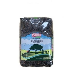 BLACK LONG GRAIN RICE 500gr