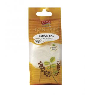 STAND FINE LEMON SALT  100gr