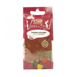 STAND PAPRIKA  100gr (GAMA) _