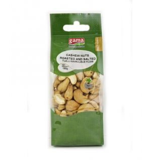 CASHEW NUT ROASTED SALTED 150gr (GAMA) |