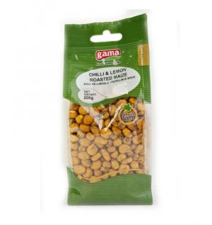MAIZE CHILI-LEMON / ACILI VE LIMONLU KAVRULMUS MISIR 200gr
