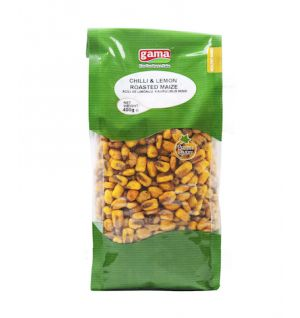 MAIZE CHILI-LEMON / ACILI VE LIMONLU KAVRULMUS MISIR 400gr