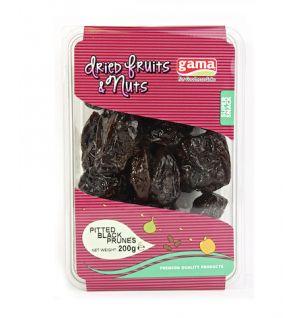 PITTED BLACK PRUNES / cekirdeksiz siyah kuru erik 200gr