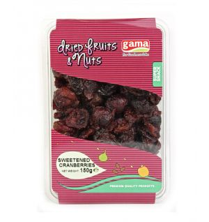 SWEETENED CRANBERRY 150gr