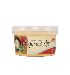 MEZE HOUMUS WITH BBQ RED PEPPER 12x454gr