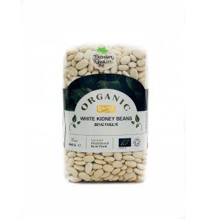 ORGANIC WHITE KIDNEY BEANS 500gr Organic White Kidney Cannellini Beans 500gr