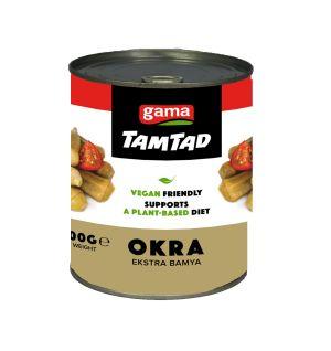 TAMTAD BOILED EXTRA OKRA / ekstra bamya 800g^