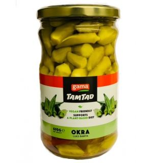 TAMTAD BOILED LUX OKRA (IN JAR) 720 cc