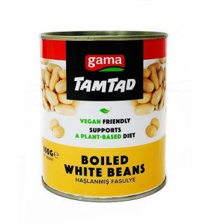 TAMTAD BOILED WHITE BEANS 800g