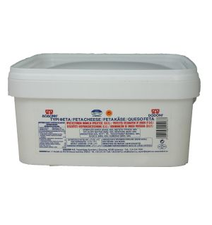 DODONI GREEK FETA CHEESE 4kg