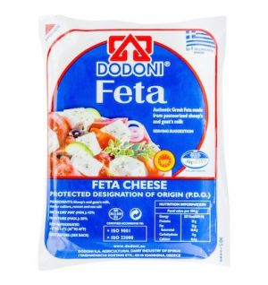 DODONI GREEK FETA CHEESE (VACUUM) 200g Dodoni Feta Small