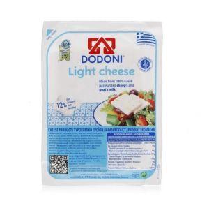 DODONI LIGHT GREEK FETA CHEESE (VACUUM) 180g