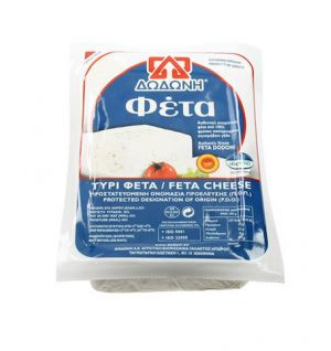 DODONI GREEK FETA CHEESE (VACUUM) 400g