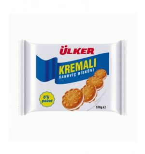 ULKER KREMALI BISCUIT 8pk 8x72g (51106-55)