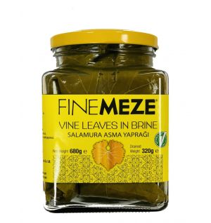 FINE MEZE VINE LEAVES 720cl