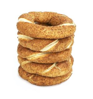 Simit Cooked 5 x Piece Simit Cooked