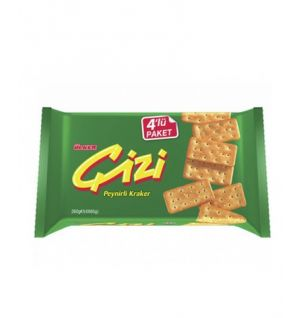 ULKER CIZI CHEESE CRACKER 4x65g