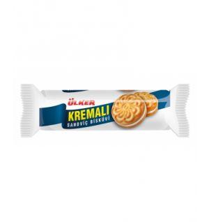 ULKER KREMALI CREAM BISCUIT / kremali sandvic biskuvi 100g