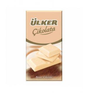 ULKER WHITE CHOC. TABLET 80g (0376-02)