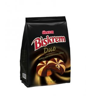 ULKER BISKREM DUO BISCUIT BAG 150gr