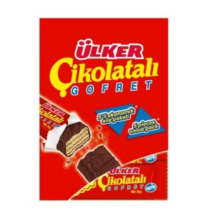 ULKER CHOCOLATE WAFER 5x36g (01361-06)