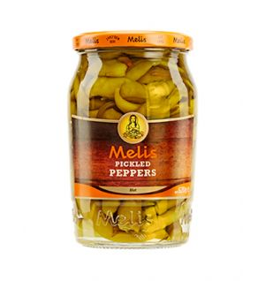 MELIS PICKLED HOT PEPPER  / aci biber tursusu 720cl