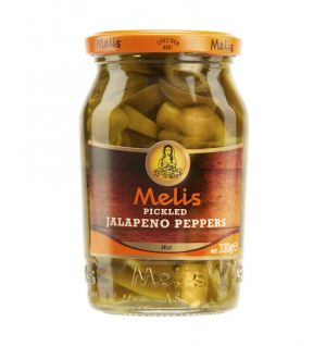 MELIS PICKLED JALAPENO PEPPER SLICES 370ml