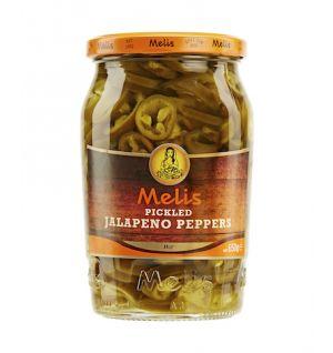 MELIS PICKLED JALAPENO PEPPER SLICES 720ml