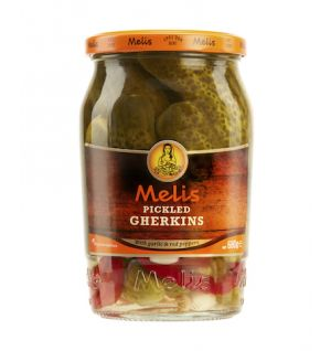 MELIS PICKLED GHERKINS 720cl