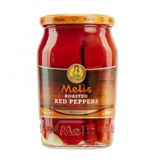 MELIS ROASTED RED PEPPER / kozlenmis kirmizi biber 720ml